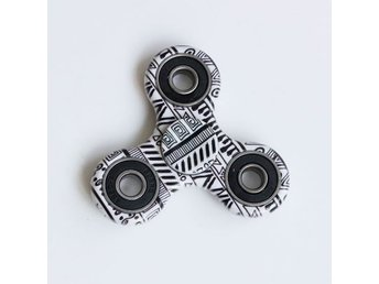 Graphic Pattern Focus Toy Fidget Spinner