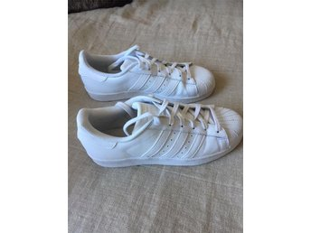 Adidas superstar all white (NYA!!!)