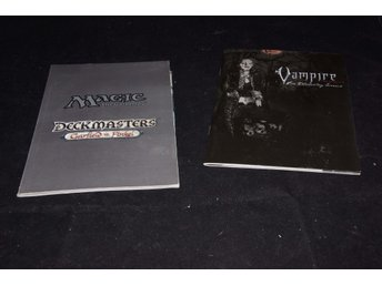Bok - Magic The Gathering Deckmasters samt Vampire The Requiem
