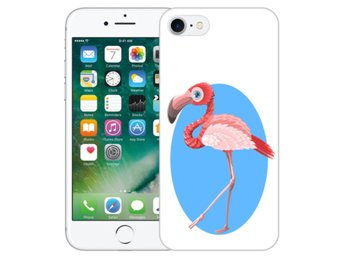 iPhone 7 Skal Pink Flamingo