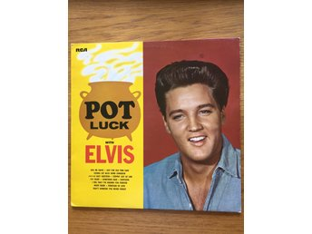 Elvis Presley Pot Luck. Lp. Vinyl