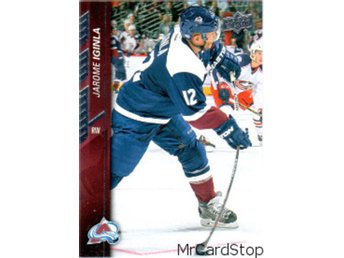 2015-16 Upper Deck 301 Jarome Iginla Colorado Avalanche