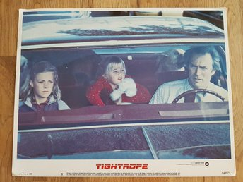 TIGHTROPE -Original Lobby Card #2- CLINT EASTWOOD-1984