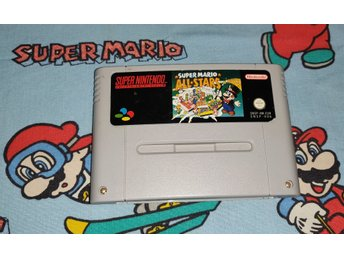 Super Mario All-Stars Nintendo! EUR! 1kr