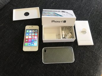 Apple IPhone 4S 32GB Vit NySkick