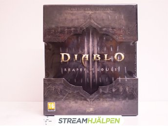Streamhjälpen: Inplastad Diablo 3: Reaper of Souls Collectors Edition - PC