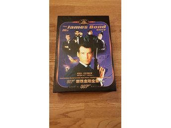 The James Bond Story DVD-5 - James Bond Collection - 19st filmer