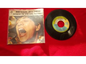 "Mitch Ryder ""Suck it to me-Baby"" singel"