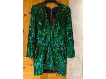 Balmain x H&M klänning i storlek 38. Använd en .. (379959775