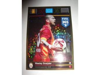 Panini Adrenalyn XL FIFA 365 - Limited Edition - WESLEY SNEIJDER - Galatasaray