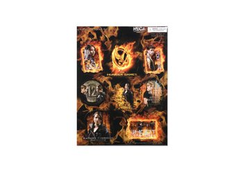 Hunger Games Movie Sticker 8 pc. Sticker Set