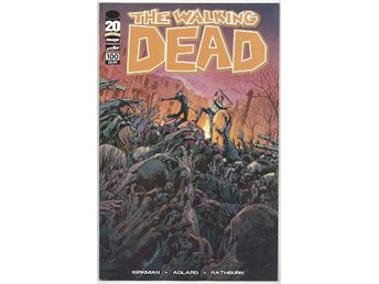 Walking Dead # 100 Cover F NM Ny Import