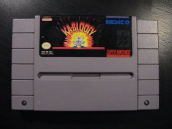 KA-BLOOEY / SUPER NINTENDO SNES / USA IMPORT