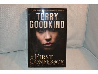 The First Confessor - Terry Goodkind (2012/2015) Engelska Fint Skick