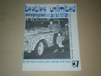 Beatles Unlimited #87 (September / Oktober 1989) - Fint Skick!