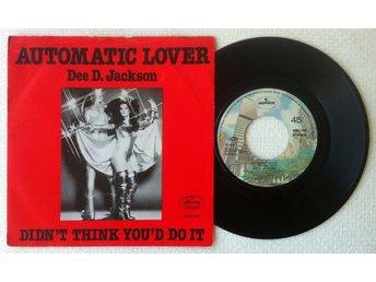 "DEE D. JACKSON 'Automatic Lover' 1978 Norwegian 7"" - Bröndby - DEE D. JACKSON 'Automatic Lover' 1978 Norwegian 7"" - Bröndby"