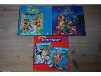 Laserdisc paket (Disney) - Kungsängen - Laserdisc paket (Disney) - Kungsängen