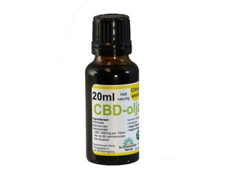 CBD olja Citrus 20 ml, 400mg CBD