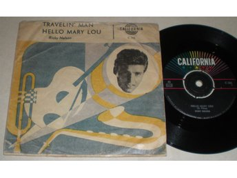 Ricky Nelson 45/PS Hello Mary Lou 1961