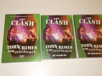 THE CLASH Tory Crimes and other tales, 2 DVD set Punk era/Bored USA era