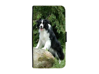Border Collie Samsung Galaxy A3 2017 Plånboksfodral