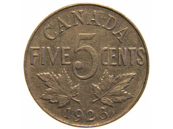 Canada 5 cents 1923