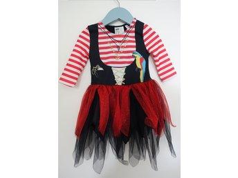 Pirat klänning utklädnad med tillbehör. Stl.92 (325297756) ᐈ Köp på ... eb6de5788a3ec