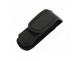 Black Nylon Holster Cover 119 For LED Flashlight Torch