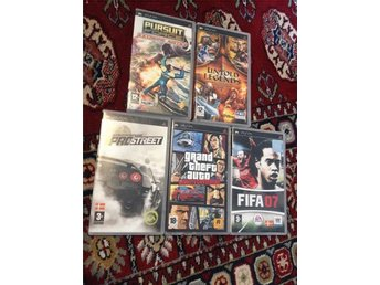 Grand Theft Auto: Liberty City Stories+Need for Speed+Fifa+Untold Legends, pur