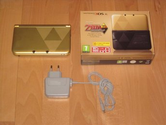 Nintendo 3DS XL Zelda med A Link Between Worlds
