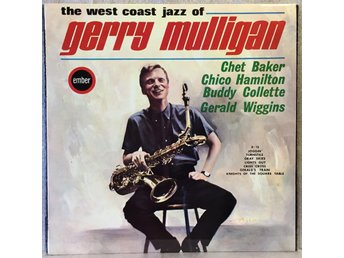 Gerry Mulligan / the west coast jazz of/Baker,Hamilton,Collette,Wiggins/CJS 811