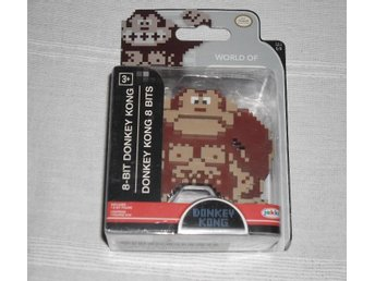 World of Nintendo Donkey Kong 8-bit Figurin