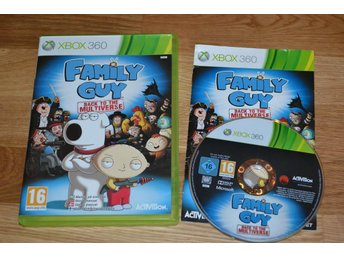 Family Guy Back to the Multiverse Xbox 360 Komplett Fint Skick - Hässleholm - Family Guy Back to the Multiverse Xbox 360 Komplett Fint Skick - Hässleholm