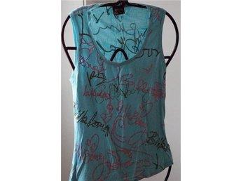 Billabong turkos blå linne med gliterstenar strl 42 - Skara - Billabong turkos blå linne med gliterstenar strl 42 - Skara