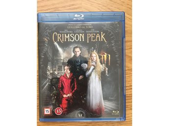 Crimson Peak Blu-ray Nyskick