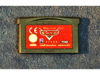 TV-SPEL   GAMEBOY ADVANCE   SCN    WALT DISNEY   CARS   ENGELSK TEXT FINT SKICK