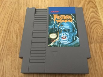 Festers Quest NES USA REV-A inkl skyddsbox