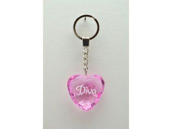 Diva Diamond keyring