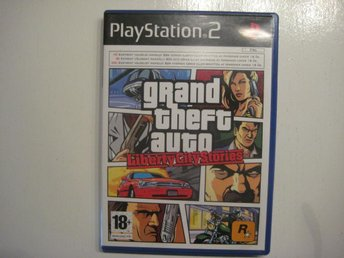 GTA Grand theft auto Liberty city stories - PS2 - åhus - GTA Grand theft auto Liberty city stories - PS2 - åhus