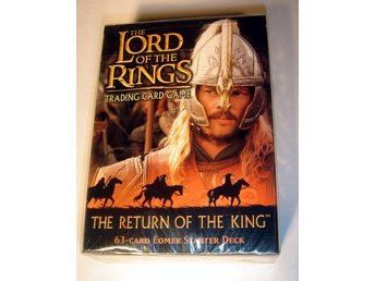 LORD OF THE RINGS  TRADING CARD GAME 63korts deck NY