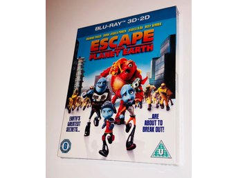 Escape from Planet Earth // Blu-ray 3D + 2D // INPLASTAD