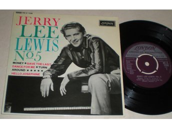 Jerry Lee Lewis EP/PS No 5 UK 1962 VG++