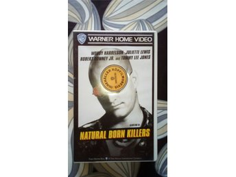 VHS: Natural Born Killers (Woody Harrelson, Juliette Lewis) 1994 action