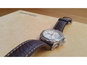 Baume & Mercier for Emilio Tadini Chronograph Automatic-movement Buffalo Leather