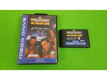 Wrestlemania The Arcade Game Sega Megadrive