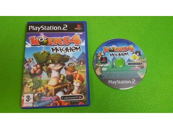 Worms 4 Mayhem PS2 Playstation 2