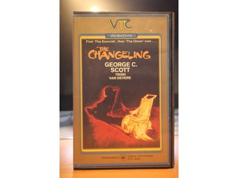 The Changeling - EX rental, UK, VTC, Pre-Cert, VHS