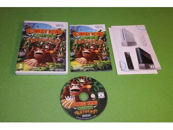 Doneky Kong Country Returns SVENSK Nintendo Wii