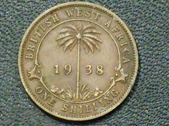 BRITISH WEST AFRICA 1 SHILLING 1938