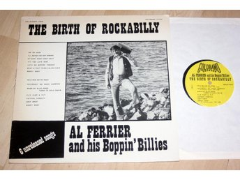 AL FERRIER Boppin' Billies Birth of Rockabilly 1956 rare